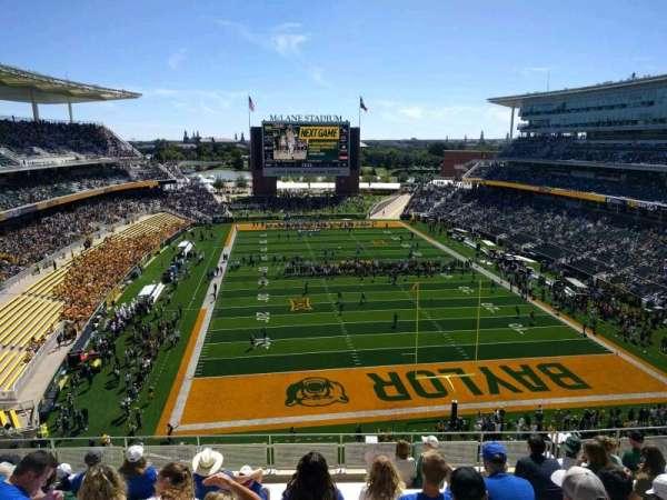McLane Stadium, section: 316, row: 10, seat: 11