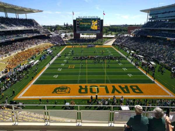 McLane Stadium, section: 315, row: 5, seat: 21