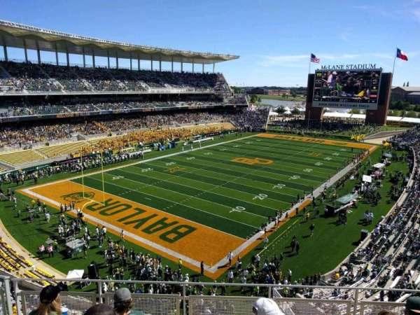 McLane Stadium, section: 312, row: 5, seat: 21