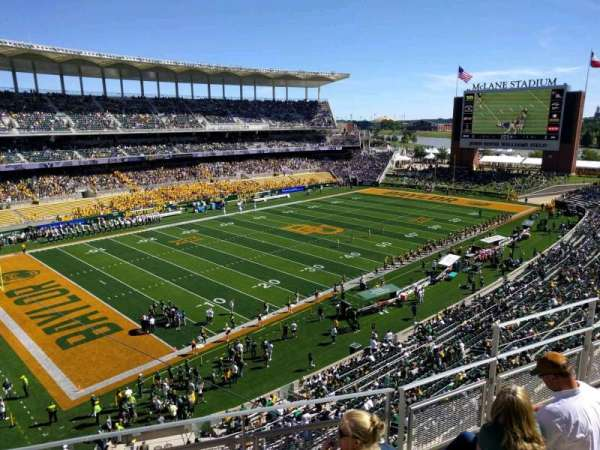 McLane Stadium, section: 311, row: 4, seat: 5
