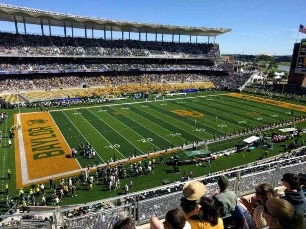 McLane Stadium, section: 310, row: 10, seat: 11