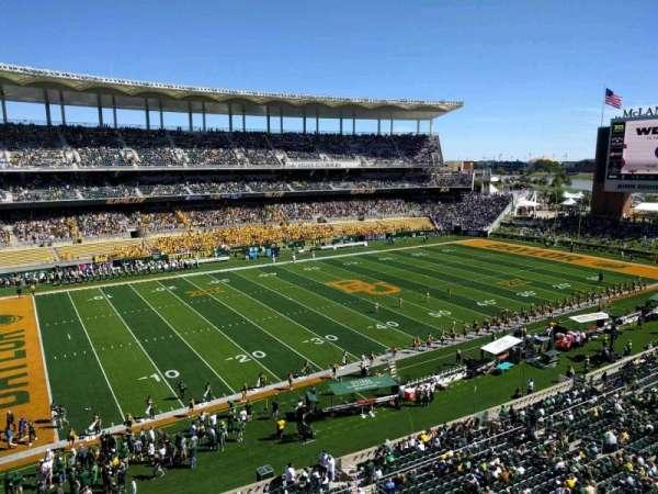 McLane Stadium, section: 309, row: 1, seat: 27