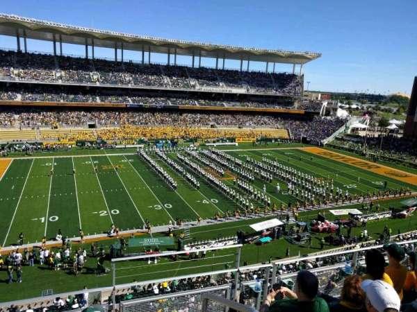 McLane Stadium, section: 309, row: 4, seat: 1
