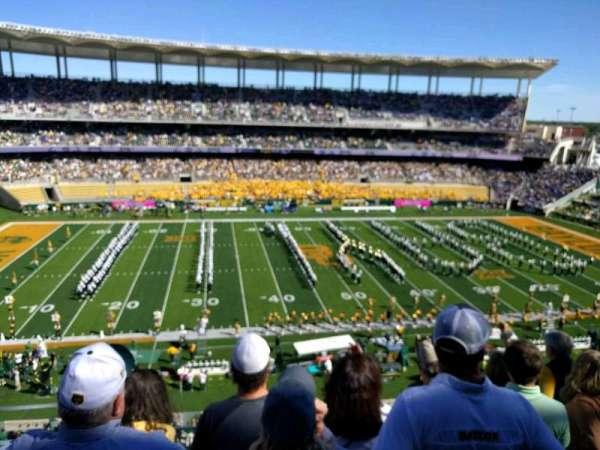 McLane Stadium, section: 307, row: 21, seat: 25