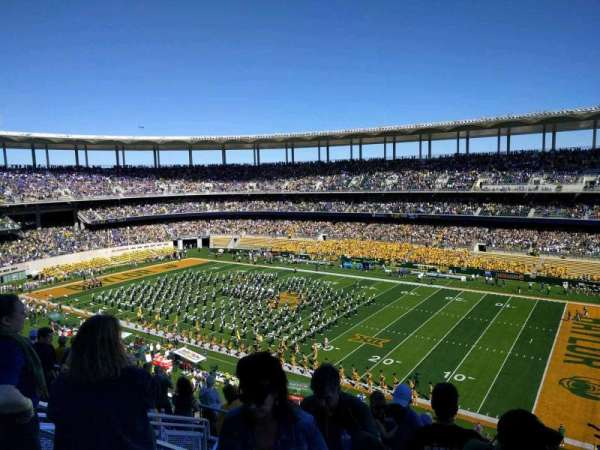 McLane Stadium, section: 301, row: 10, seat: 32