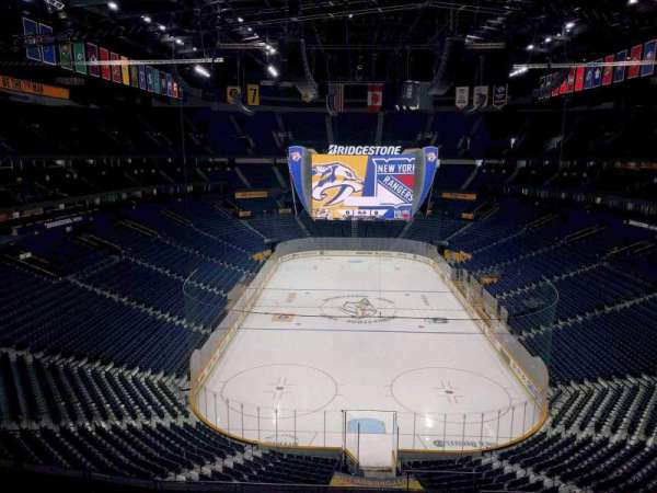 Bridgestone Arena, section: 317, row: j, seat: 8