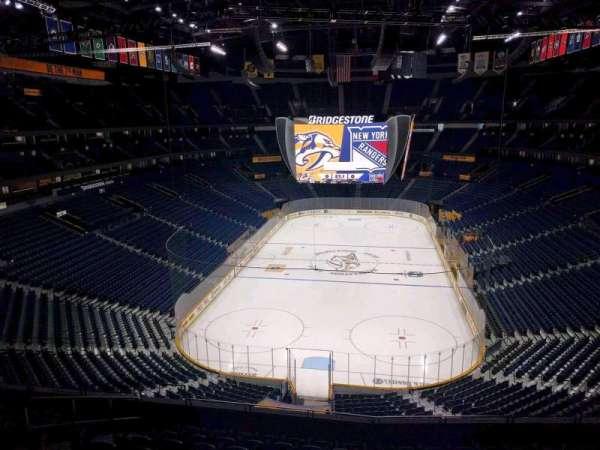 Bridgestone Arena, section: 318, row: k, seat: 11