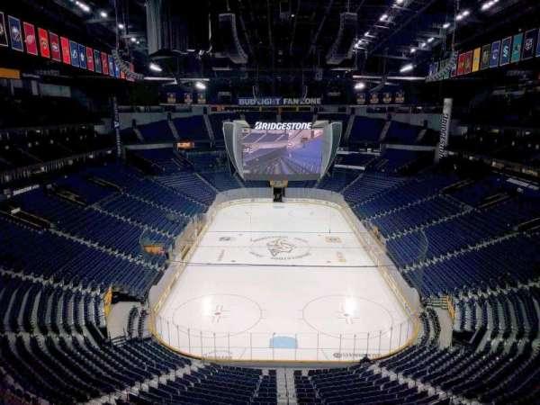Bridgestone Arena, section: 301, row: d, seat: 11