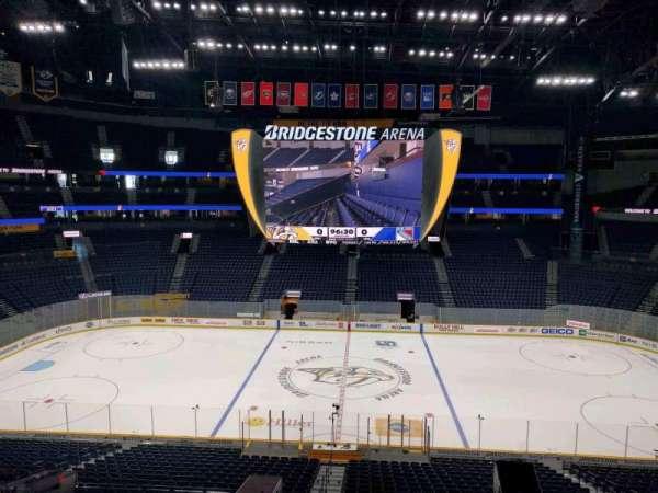 Bridgestone Arena, section: 209, row: g, seat: 2