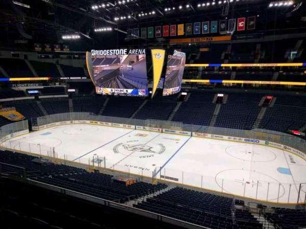 Bridgestone Arena, section: 501 club, row: box 2, seat: 2