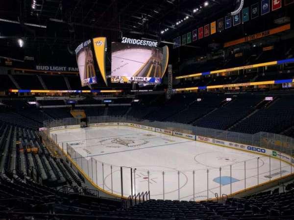 Bridgestone Arena, section: 119, row: k, seat: 8