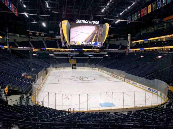 Bridgestone Arena, section: 120, row: k, seat: 12