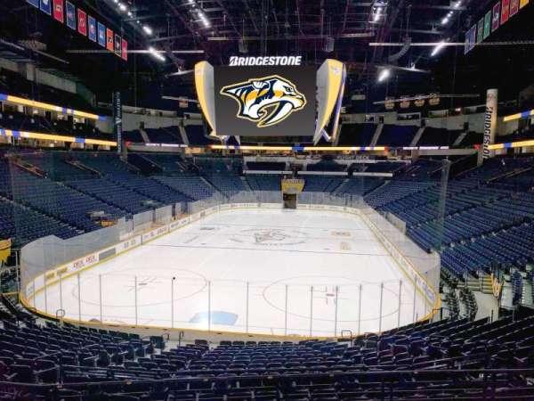 Bridgestone Arena, section: 101, row: k, seat: 12