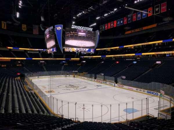 Bridgestone Arena, section: 109, row: h, seat: 7