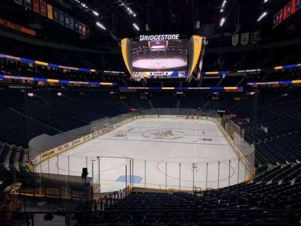 Bridgestone Arena, section: 111, row: j, seat: 11