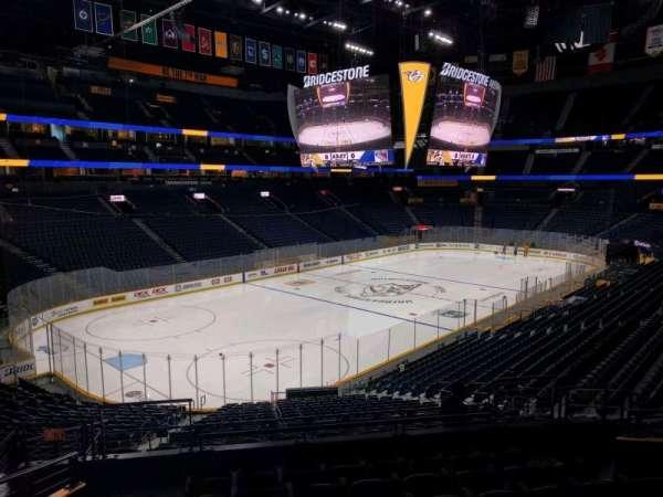 Bridgestone Arena, section: 113, row: n, seat: 11