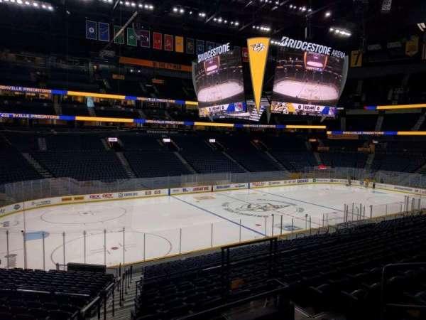 Bridgestone Arena, section: 114, row: m, seat: 29