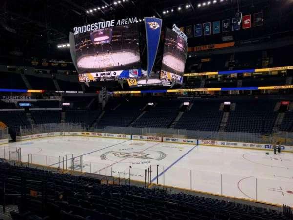 Bridgestone Arena, section: 117, row: l, seat: 11