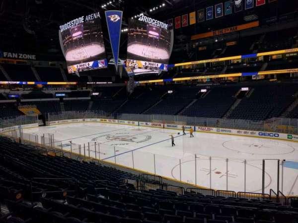 Bridgestone Arena, section: 118, row: j, seat: 12