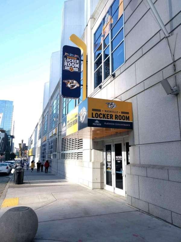 Bridgestone Arena, section: patron club entrance