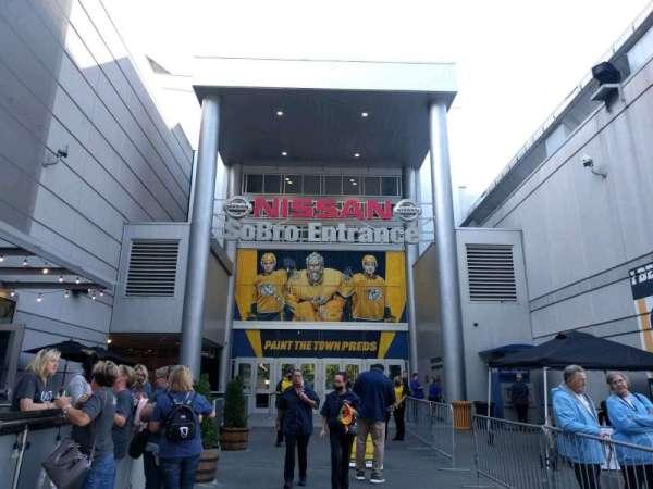 Bridgestone Arena, section: sobro entrance