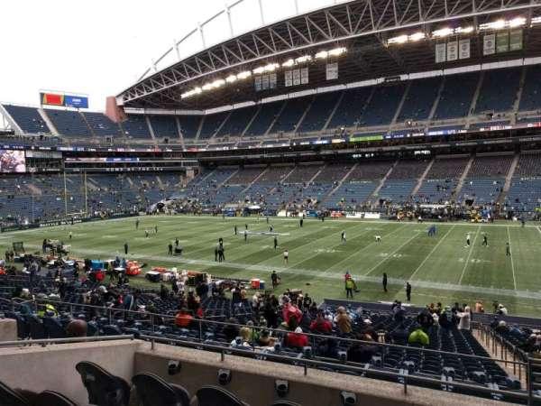 Lumen Field, section: 206, row: e, seat: 3
