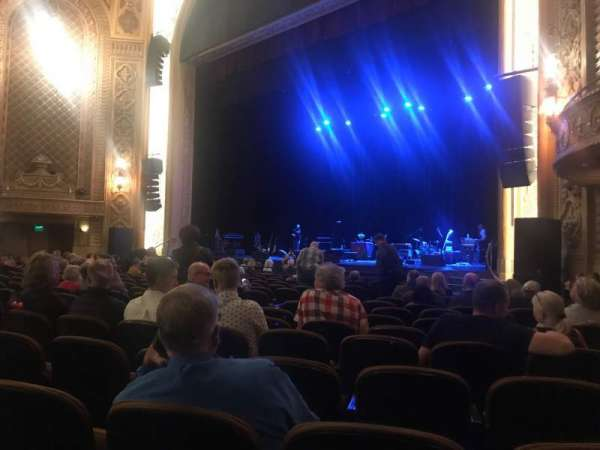 Paramount Theatre (Seattle), section: MF1, row: R, seat: 9