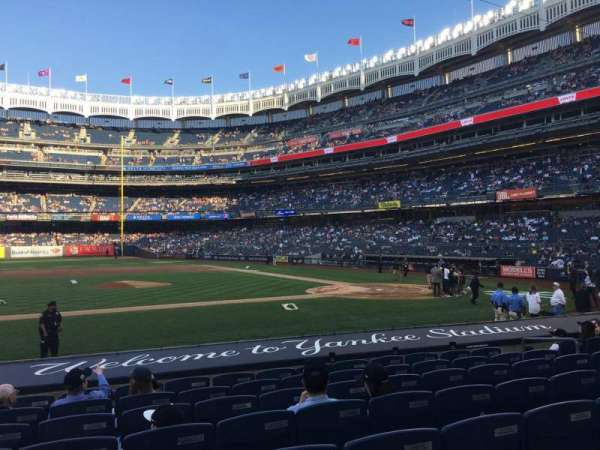 Yankee Stadium, section: 124, row: 1, seat: 5