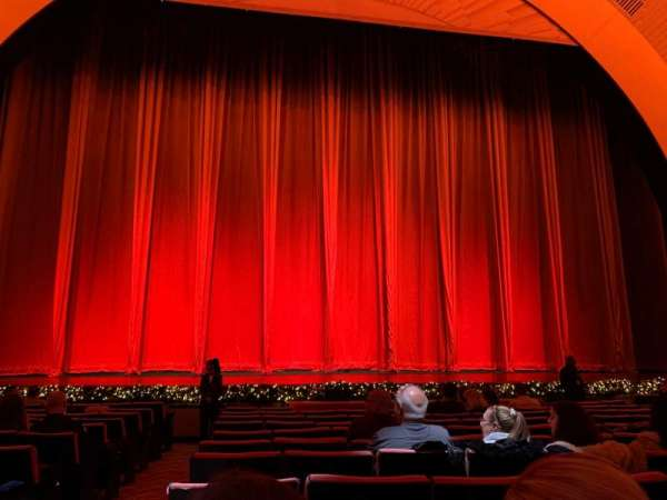 Radio City Music Hall, section: Orchestra 4, row: MM, seat: 412