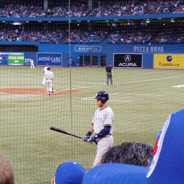 rogers centre, section: 121r, row: 9, seat: 9