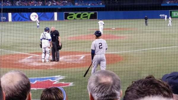 Rogers Centre, section: 121R/120L, row: 9, seat: 9/108