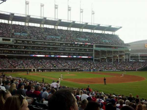 Progressive Field, section: 130, row: z, seat: 2