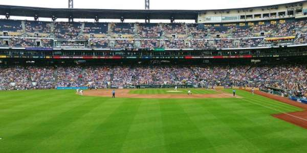 PNC Park, section: 235, row: A, seat: 5