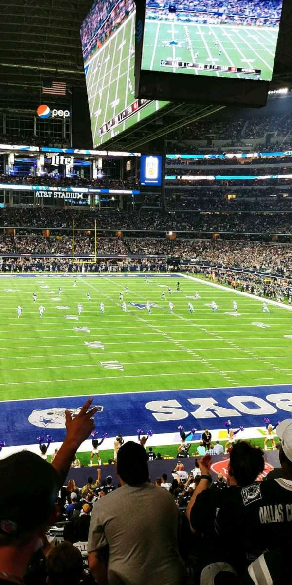 AT&T Stadium, section: 250, row: 7, seat: 5