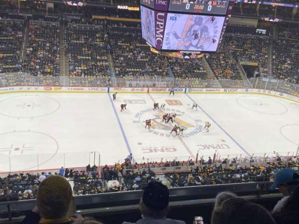 PPG Paints Arena, section: 204, row: C, seat: 14