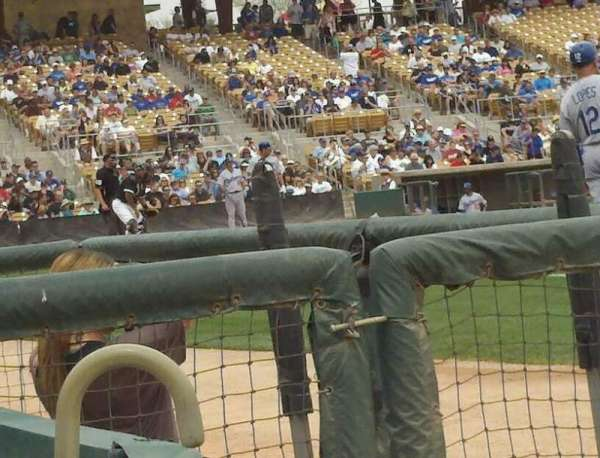 Camelback Ranch, section: 5, row: 1, seat: 8