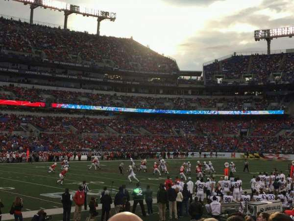 M&T Bank Stadium, section: 103, row: 11, seat: 14