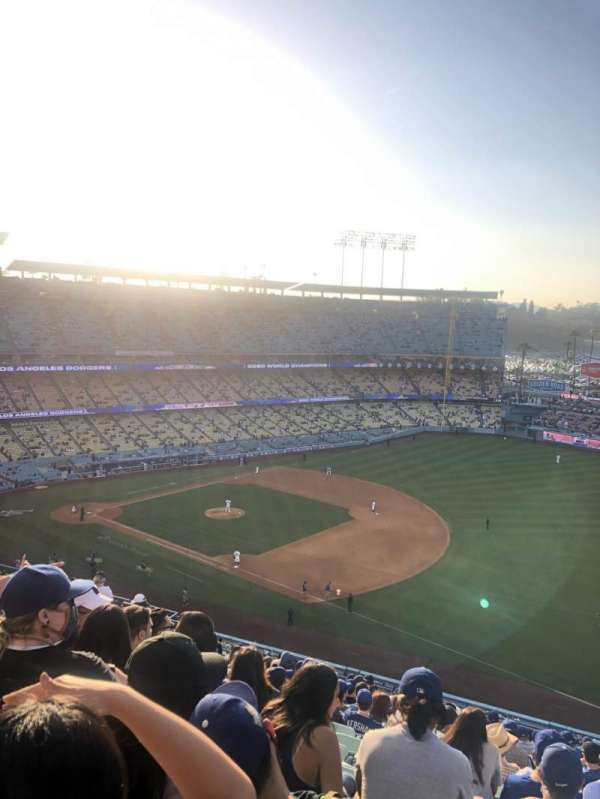 Dodger Stadium, section: 32RS, row: S, seat: 20
