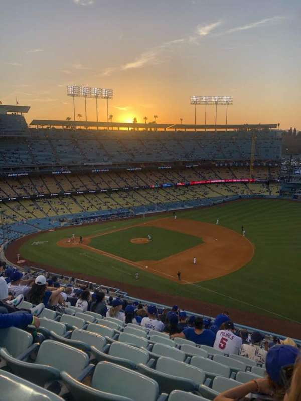 Dodger Stadium, section: 32RS, row: S, seat: 22