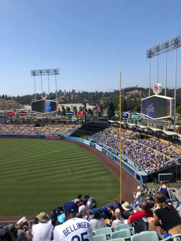 Dodger Stadium, section: 40RS, row: P, seat: 13
