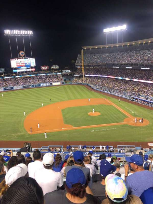 Dodger Stadium, section: 19RS, row: L, seat: 2