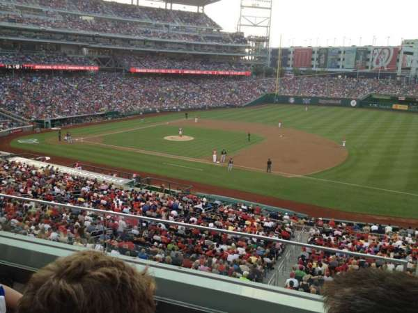 Nationals Park, section: 221, row: C, seat: 1