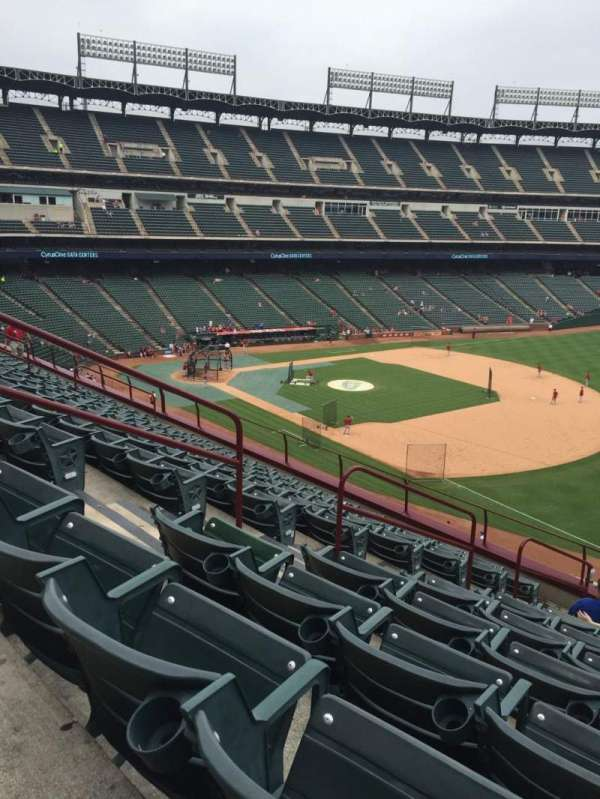 Globe Life Park in Arlington, section: 238, row: 10, seat: 3
