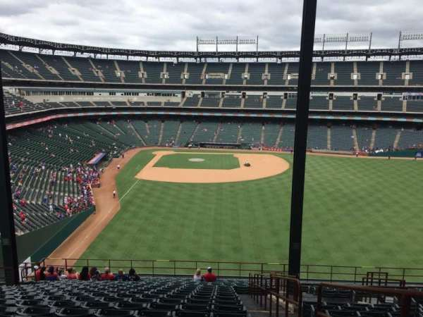 Globe Life Park in Arlington, section: 247, row: 23, seat: 16