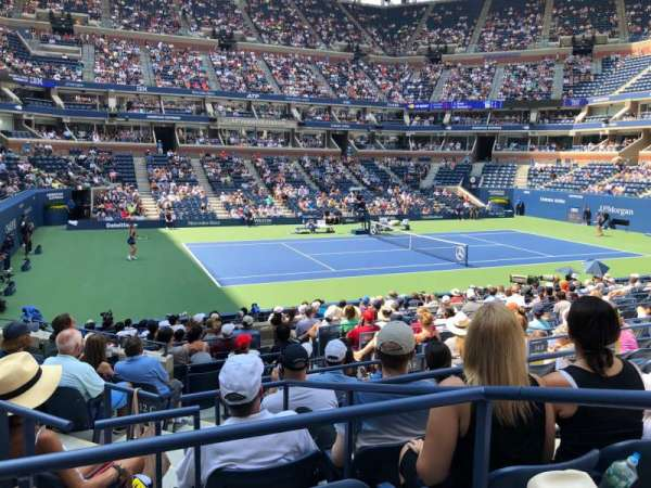 Arthur Ashe Stadium, section: 12, row: H, seat: 7