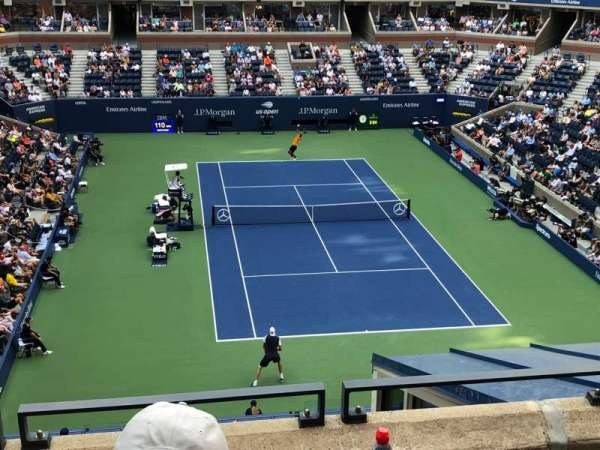 Arthur Ashe Stadium, section: 136, row: C, seat: 9
