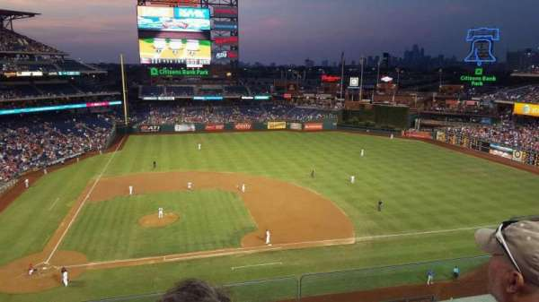 Citizens Bank Park, section: 316, row: 3, seat: 5