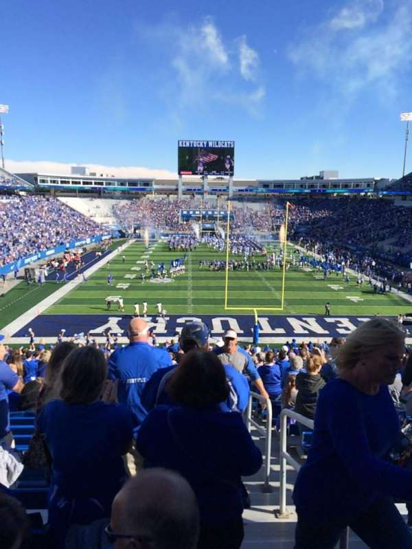 Kroger Field, section: 15, row: 45, seat: 19-20