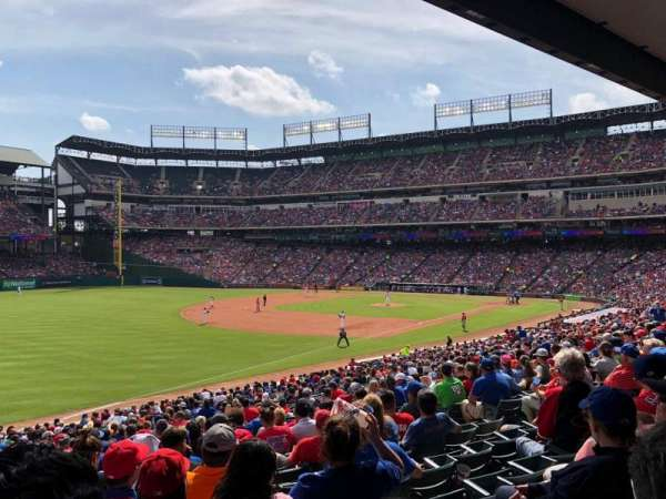 Globe Life Park in Arlington, section: 13, row: 31, seat: 4