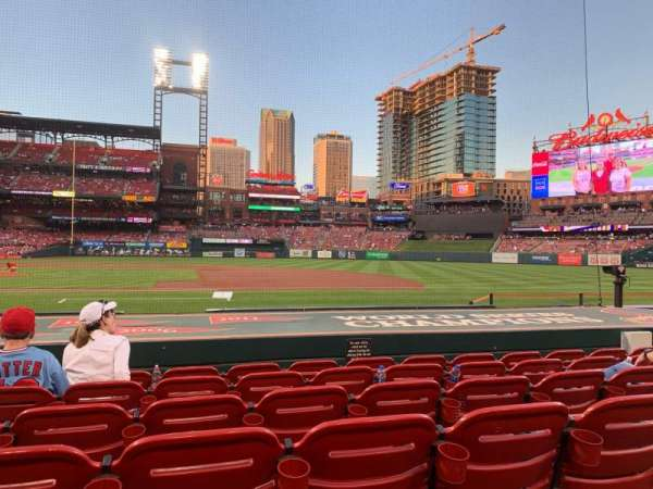 Busch Stadium, section: Diamond Box 143, row: E, seat: 3